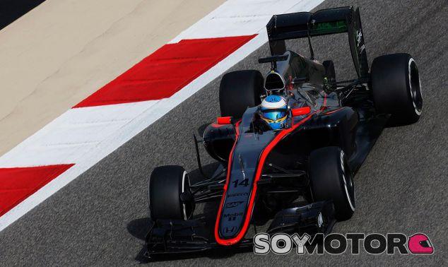 Fernando Alonso, hoy en Baréin - LaF1