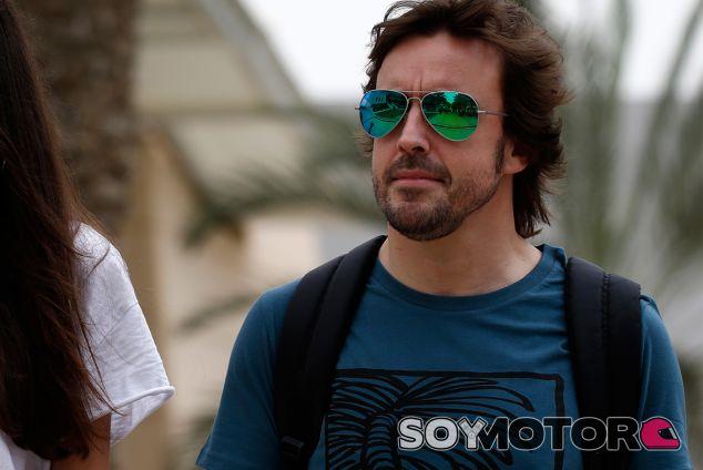 Fernando Alonso en Baréin - SoyMotor.com