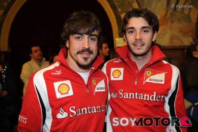 Alonso y Bianchi compartieron mucho tiempos juntos cuando coincidieron en Ferrari - LaF1