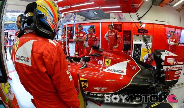 Ferrari en el GP de Japón F1 2014: Previo