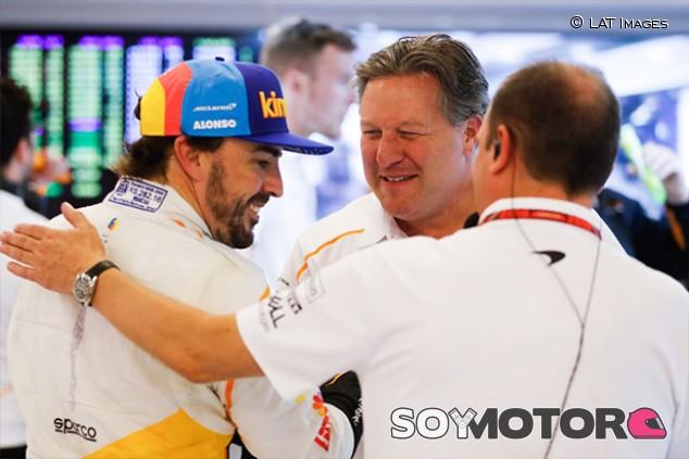 """Alonso habla de """"lealtad"""" a McLaren en su regreso a Indy500 - SoyMotor.com"""