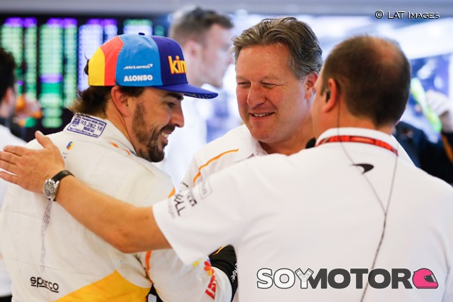 "Brown: ""Hemos hecho que quieran correr para McLaren, fíjate en Alonso"" - SoyMotor.com"