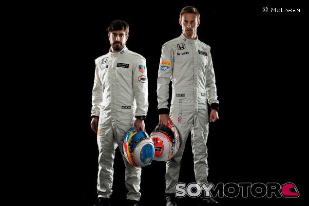 Fernando Alonso y Jenson Button - LaF1