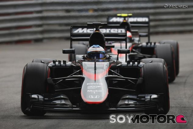Alonso y Button en Mónaco - LaF1