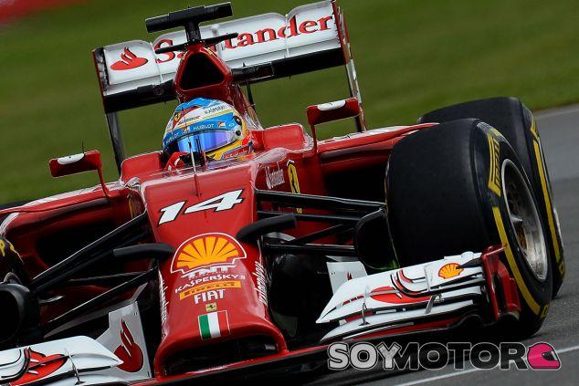 Fernando Alonso en Montréal - LaF1