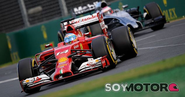 Ferrari en el GP de Australia F1 2014: Domingo