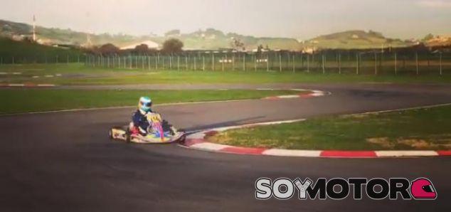 Fernando Alonso en su Museo-Circuito - LaF1