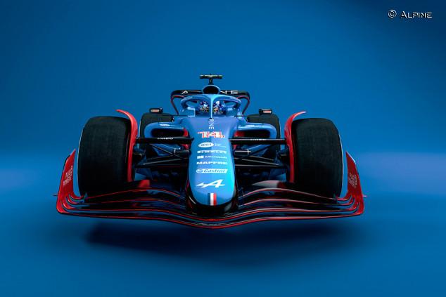 Así puede ser el Alpine de 2022 de Fernando Alonso - SoyMotor.com