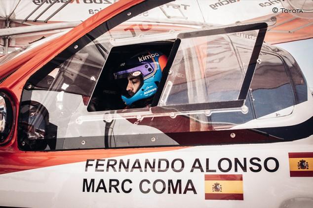 Alonso y Coma se inscriben en la Lichtenburg 400 para preparar el Dakar - SoyMotor.com