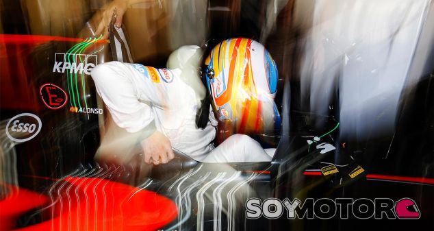 Fernando Alonso en Abu Dabi - LaF1