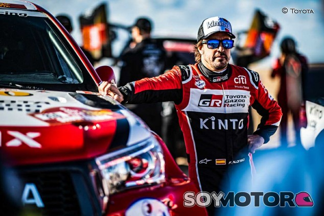 """Alonso: """"En cuanto a ritmo, ha sido mi mejor etapa en el Dakar"""" - SoyMotor.com"""