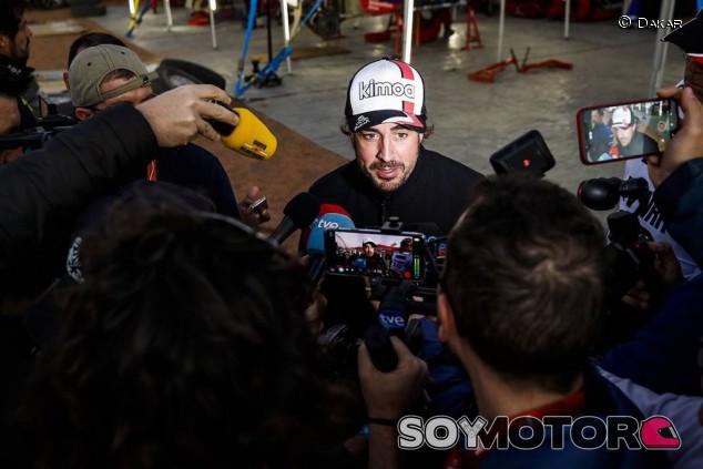 """Alonso: """"Gran día, el coche y Marc han estado 'top'"""""""
