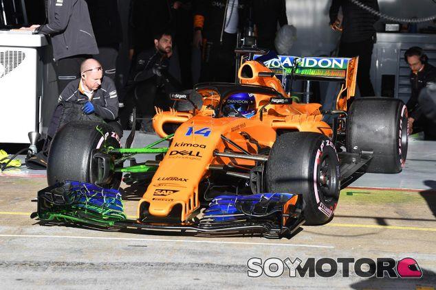 Alonso en el Circuit de Barcelona-Catalunya - SoyMotor