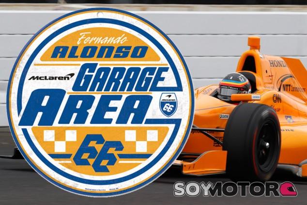 Se 'filtra' el dorsal de Fernando Alonso para las 500 Millas de Indianapolis - SoyMotor.com