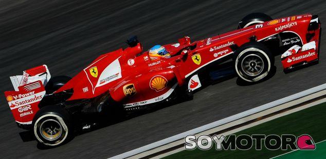 Fernando Alonso con el F138 en Corea - LaF1