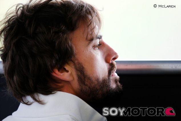 Fernando Alonso durante los test de Jerez - LaF1