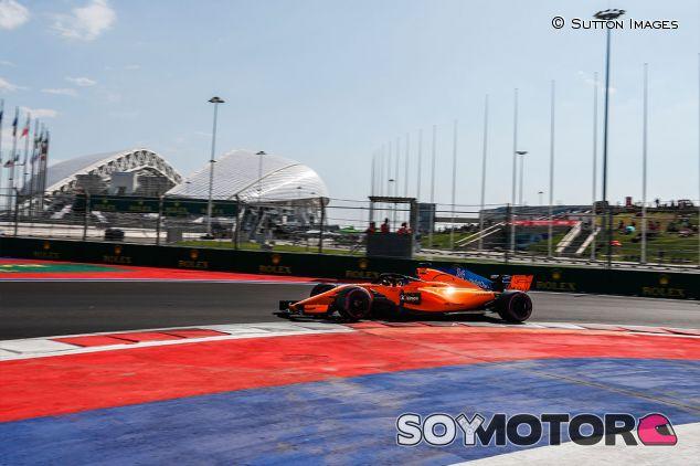 Fernando Alonso en Sochi - SoyMotor.com