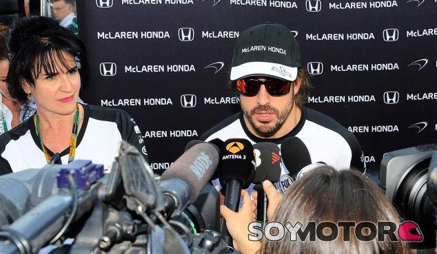Fernando Alonso en Hungría - LaF1