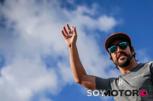 Fernando Alonso en Hungría - SoyMotor.com