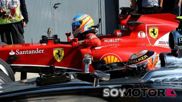 Ferrari en el GP de Italia F1 2014: Sábado