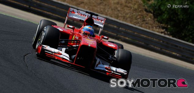 Fernando Alonso en Hungaroring