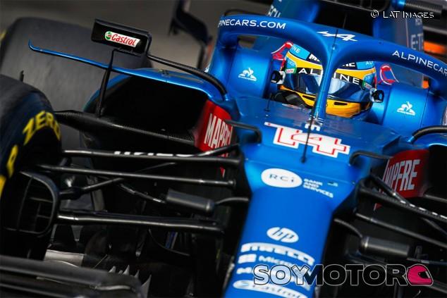 Fernando Alonso en el GP de Mónaco F1 2021 - SoyMotor.com