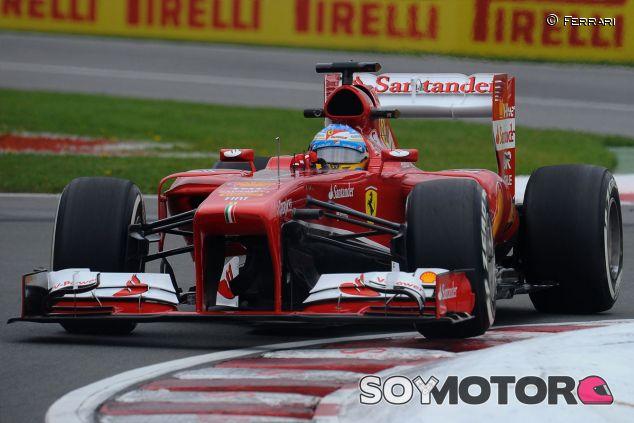 Fernando Alonso en el Gran Premio de Canadá - LaF1