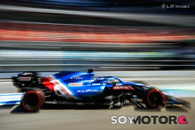 """Alonso gana """"confianza"""" con el Alpine: """"Ha sido un buen viernes"""" - SoyMotor.com"""