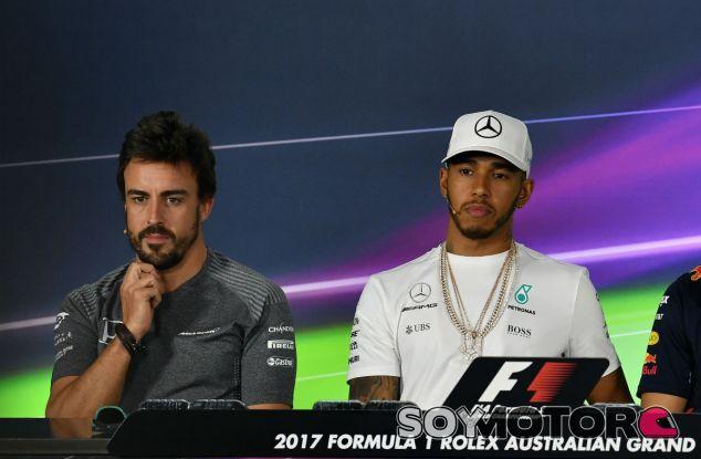 "Hamilton sobre que Alonso llegue a Mercedes: ""No va a ocurrir"" - SoyMotor"