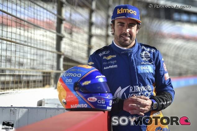 """Alonso empieza """"de cero"""" en Indianápolis: """"Hay que 'reaprender' cosas"""" - SoyMotor.com"""