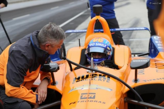 McLaren, abierta a añadir un tercer coche en IndyCar para Alonso