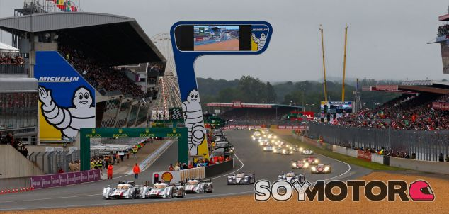 Salida de las 24 horas de Le Mans de 2013 - LaF1