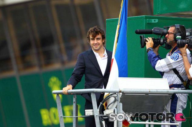 Fernando Alonso en la pasada edición de las 24 Horas de Le Mans - LaF1