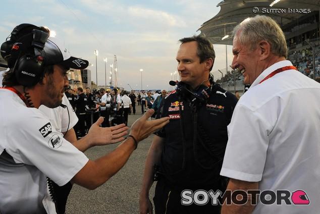"""Palmer, a Red Bull: """"Con el fichaje de Alonso, habrían preocupado a Mercedes"""" - SoyMotor.com"""