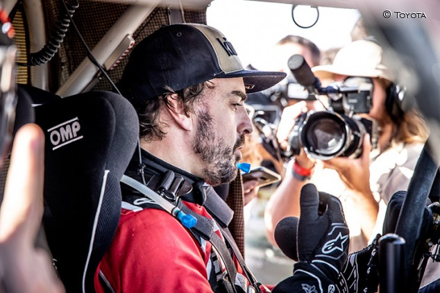 """Alonso: """"Si hago el Dakar, un 1% de mi cabeza piensa en ganar"""" - SoyMotor.com"""