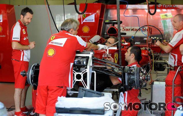 Box de Ferrari en Interlagos - LaF1