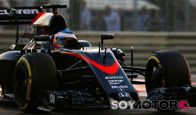 Fernando Alonso en el Gran Premio de Abu Dabi - LaF1