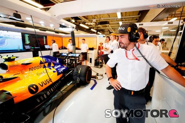 Fernando Alonso en el GP de Abu Dabi F1 2019 - SoyMotor.com