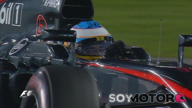 Fernando Alonso en la noche de Abu Dabi - LaF1