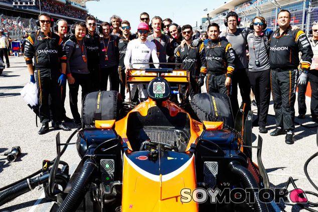 Fernando Alonso antes del GP de Estados Unidos - SoyMotor
