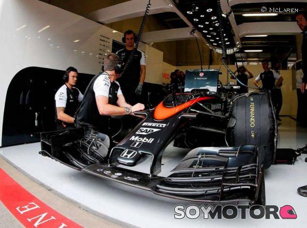 Morro corto del McLaren-Honda - LaF1.es