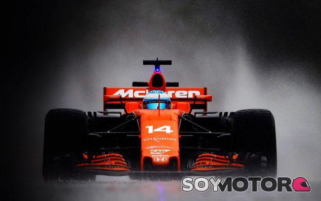 Fernando Alonso en Spa-Francorchamps - SoyMotor