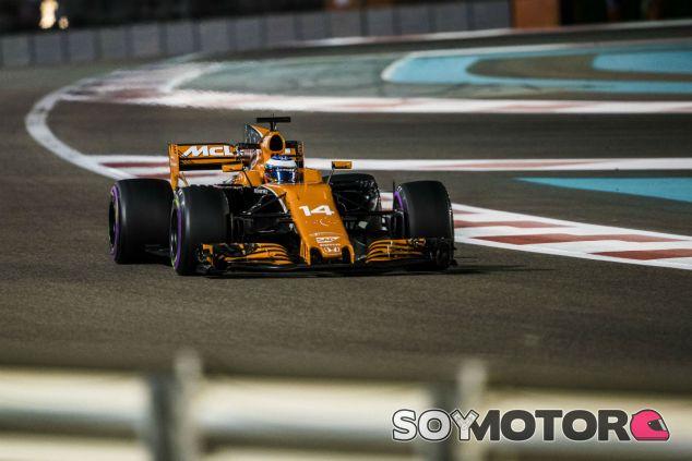 Alonso en Abu Dabi - SoyMotor.com