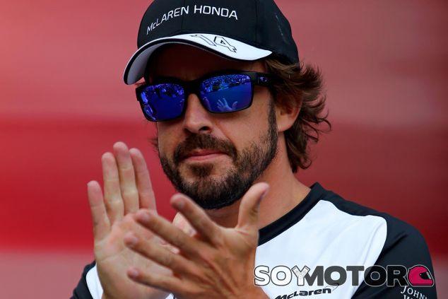 Fernando Alonso, hoy en Montmeló - LaF1