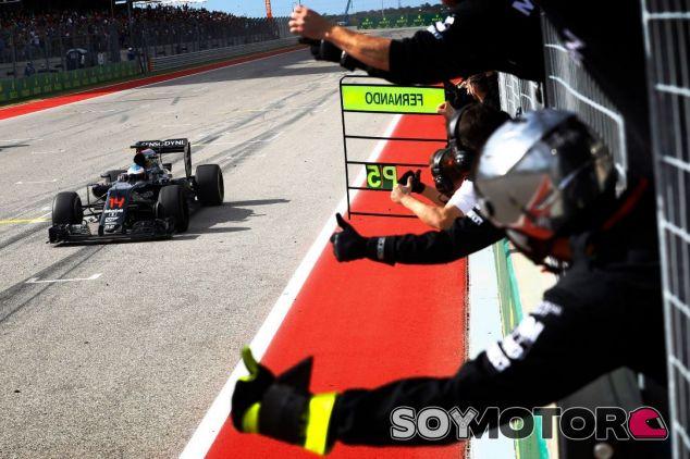 Alonso realizó una de las mejores carreras del año en Austin - LaF1
