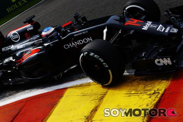 Alonso realizó una buena carrera en Spa - LaF1