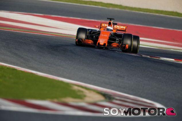 Fernando Alonso en la jornada de ayer - SoyMotor