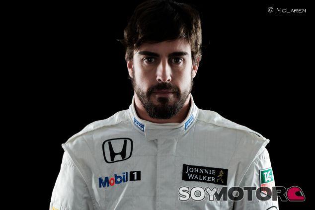 Fernando Alonso en la presentación de McLaren-Honda - LaF1
