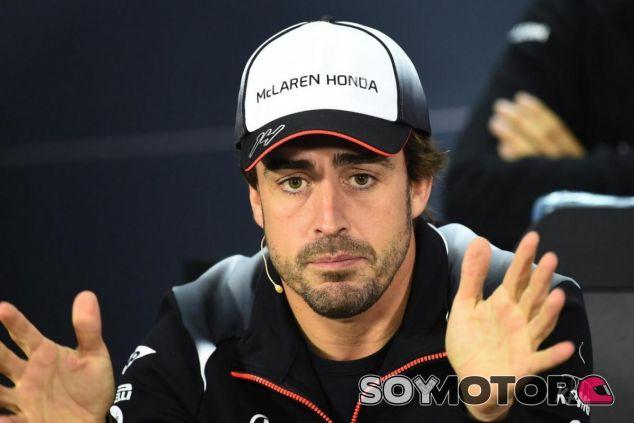 Alonso ha hablado claro sobre la jerarquía de los pilotos en parrilla - LaF1