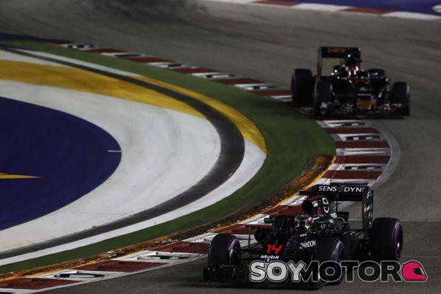 Alonso terminó por delante de ambos Toro Rosso - LaF1